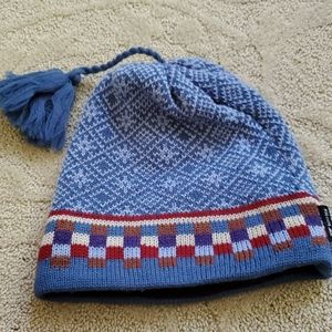Igloos Blue Check Winter Hat